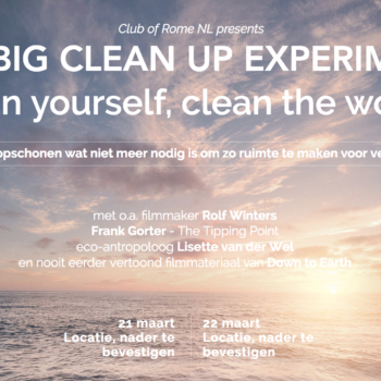 The Big Cleanup Experiment – clean yourself, clean the world
